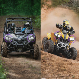 Baja Designs Can-Am, Maverick(13-16)/Renegade(11-16) LED Headlight Kit