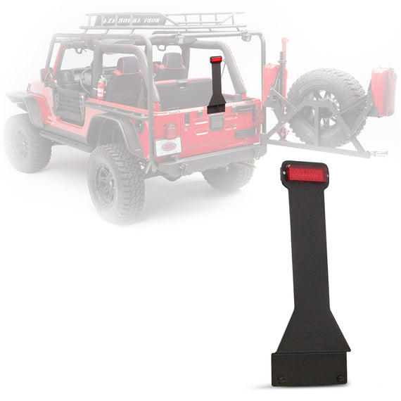 Body Armor 4x4 1987-2018 Jeep Wrangler Elevated LED Third Brake Light