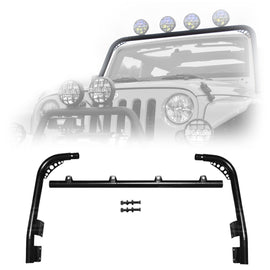 Body Armor 4x4 2007-2018 Jeep Wrangler Windshield Light Bar