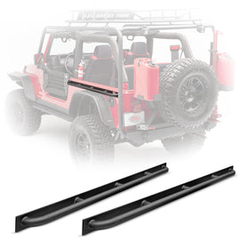 Body Armor 4x4 1997-2006 Jeep Wrangler Side Tub Rails