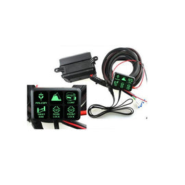 S-Tech 09-18 Jeep Wrangler Universal 6 Gang Switch Harness Kit