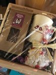 Cocoa Crate with Mug Gift Basket