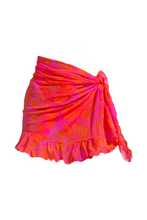 Load image into Gallery viewer, Mesh Ruffle Sarong