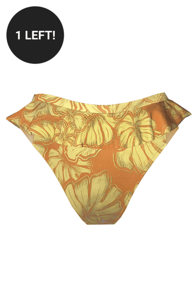 CALLA Ruffle Bottom- *FINAL SALE*