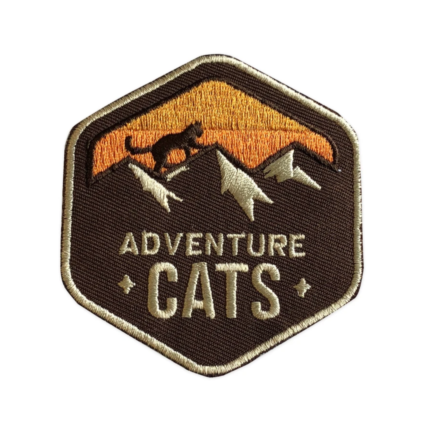 """Adventure Cats"" - Embroidered Patch"