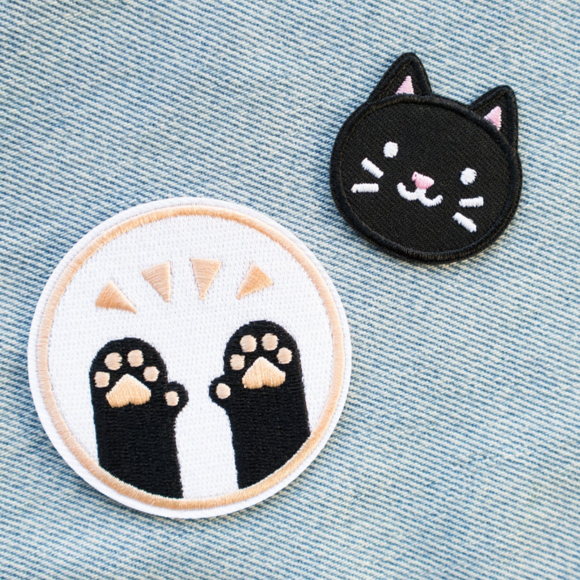 """Pawsome"" - Embroidered Patch"
