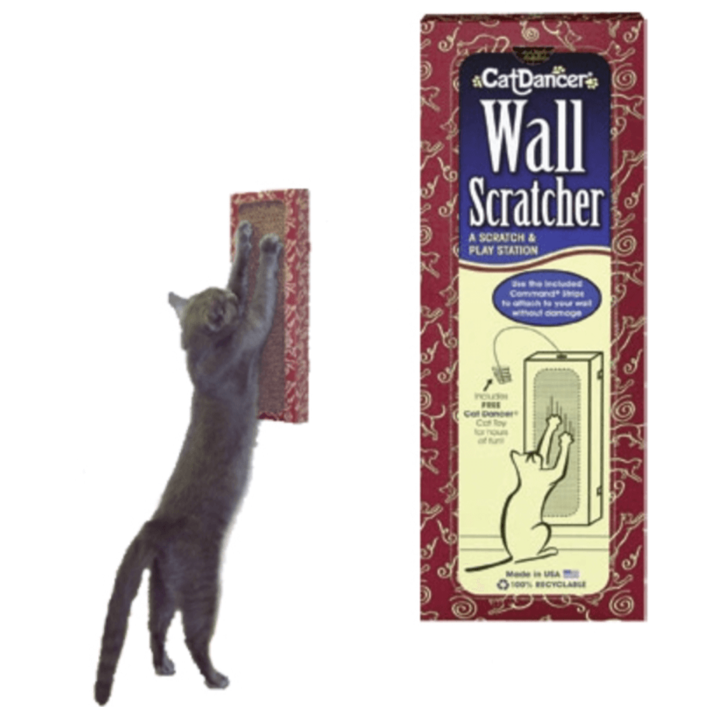 "Refillable ""Cardboard Wall Scratcher"""