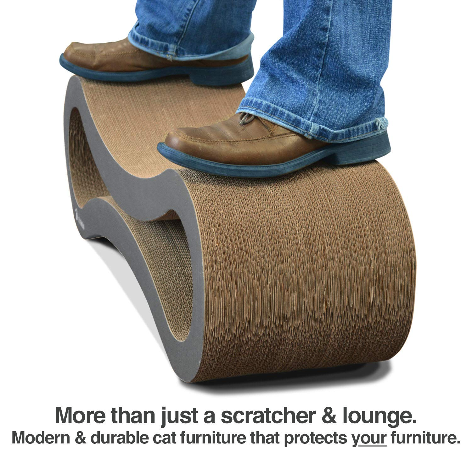 Ultimate Cat Scratcher Lounge by PetFusion