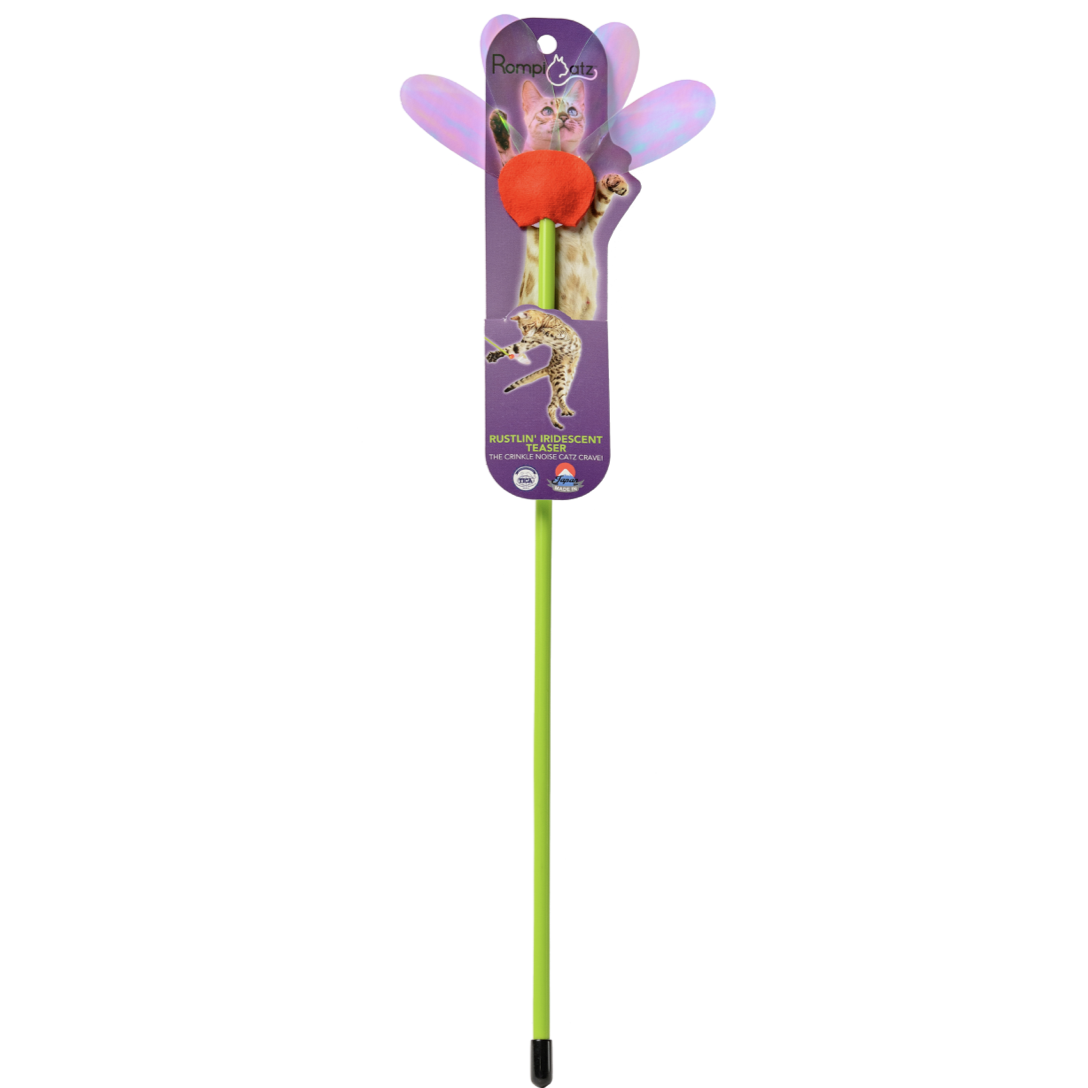 """Mylar Flower Teaser"" - Wand Toy"