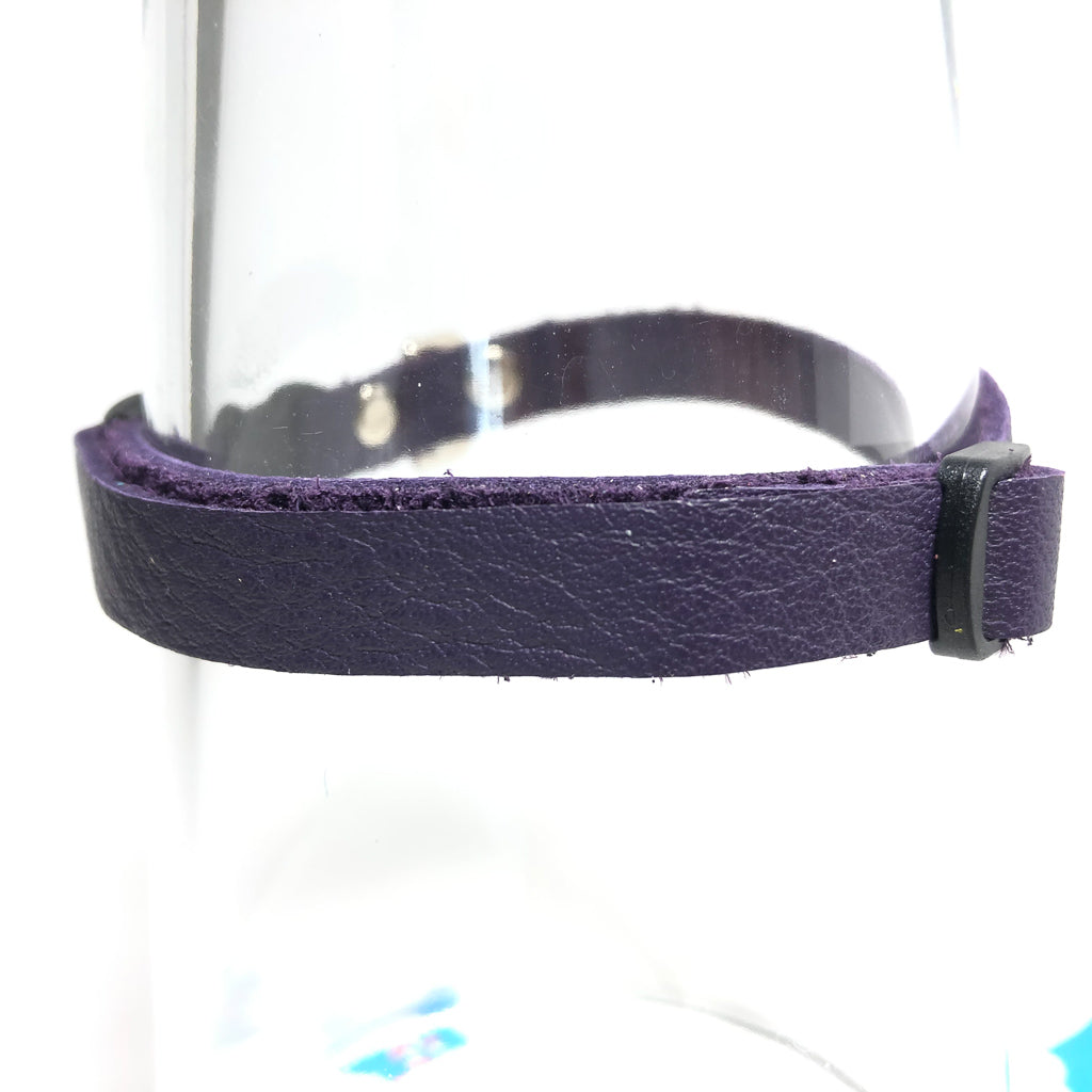 Reclaimed Leather Cat Collar