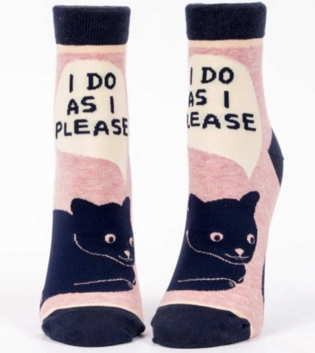 """I Do As I Please"" - Ankle Socks"