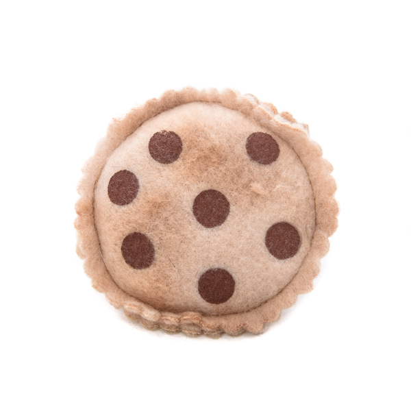 """Chocolate Chip Cookie"" - Catnip Toy"