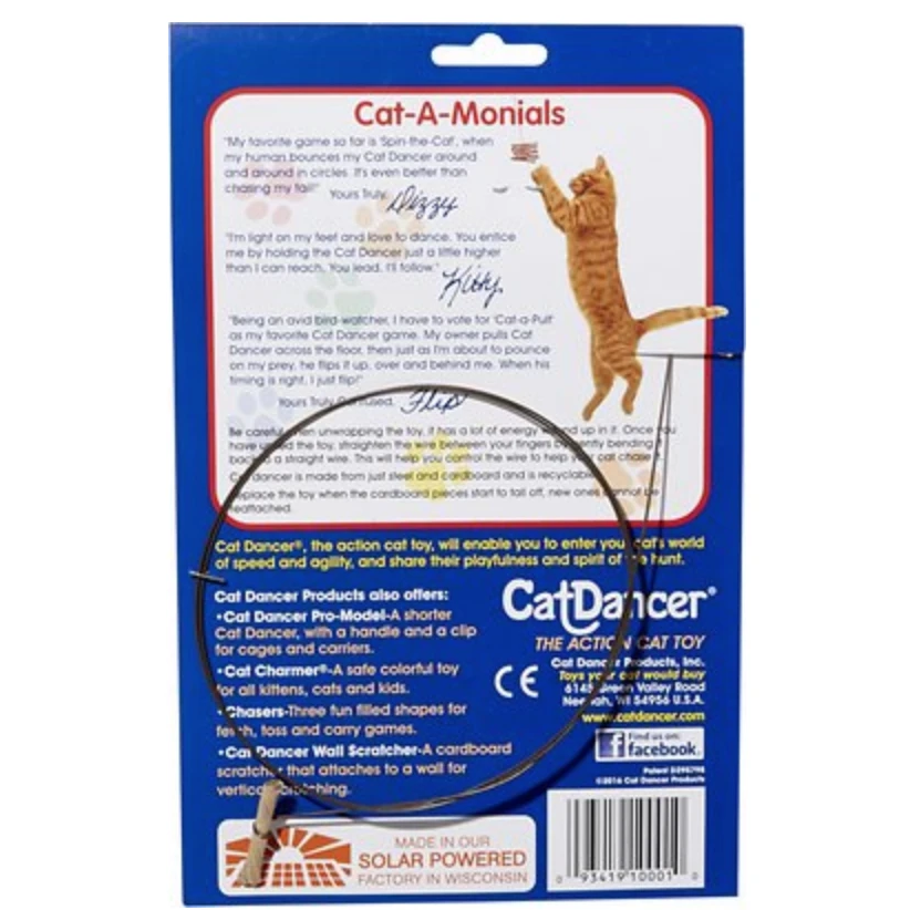"""Cat Dancer"" - Original Interactive Cat Toy"