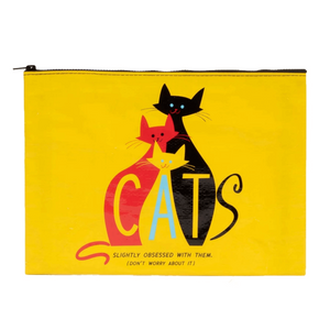"""CATS"" Jumbo Storage Pouch"