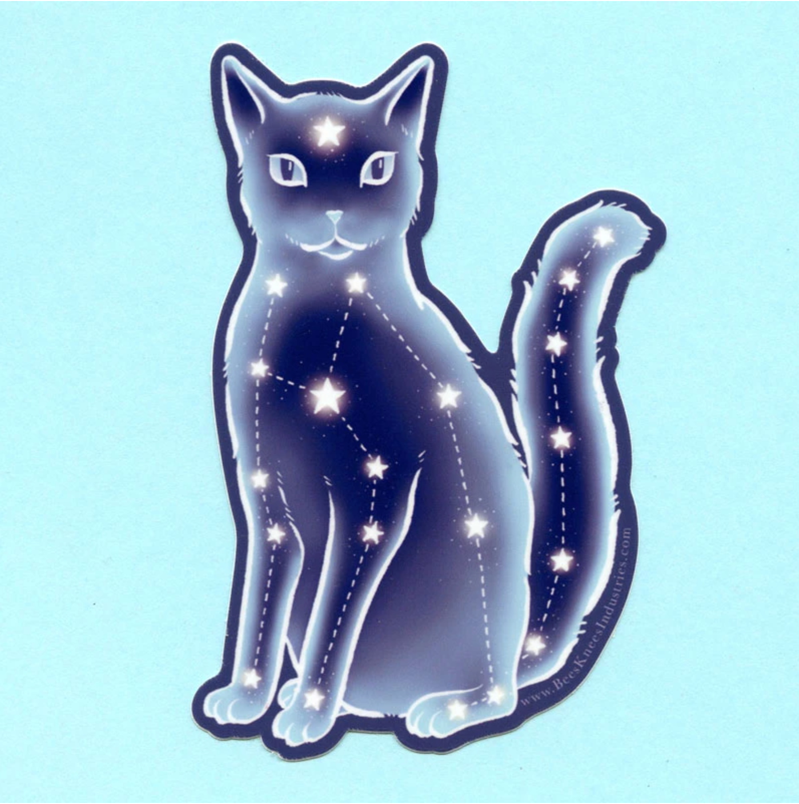 """Celestial Cat"" - Sticker"