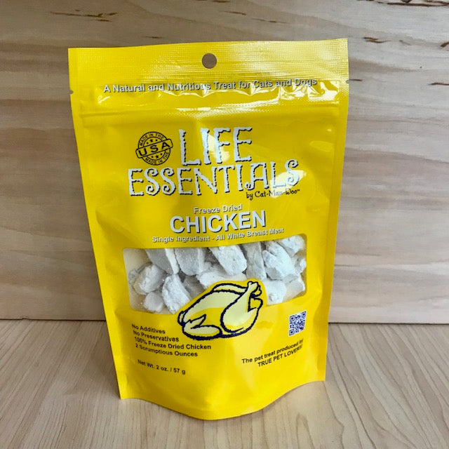 Freeze Dried Chicken - Cat Treats (2 sizes)