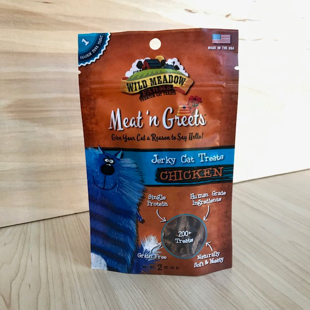 Soft Jerky Cat Treats - Chicken