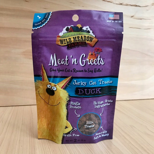 Soft Jerky Cat Treats - Duck