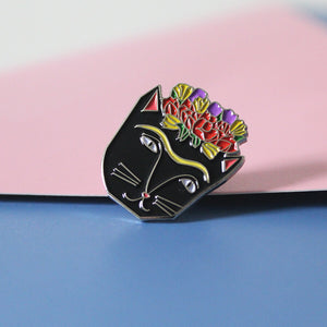 """Frida Catlo"" - Enamel Pin"