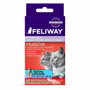 Feliway MultiCat - Refill (Diffuser Plug-In Not Included)