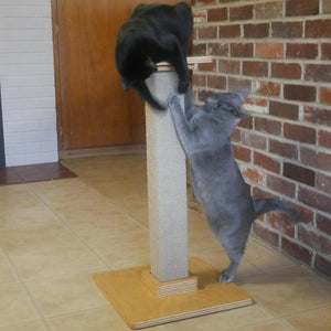 Hand-Made, Eco-Friendly Scratching Post [Free USA Shipping]
