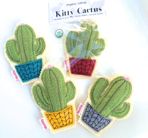 Kitty Cactus - Catnip Toy