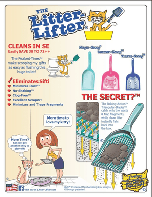 """Litter-Lifter Travel Size"" - Litter Scooper"