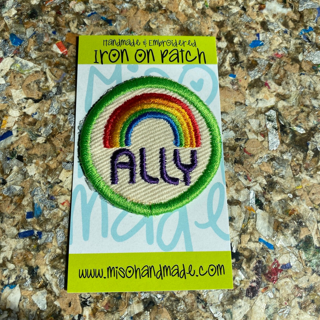 """Ally"" - Iron On Patch"
