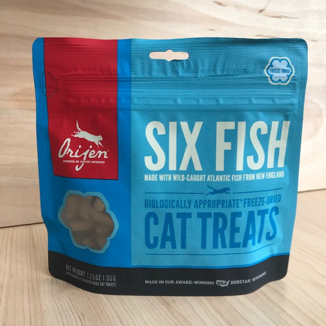 "Orijen ""Six Fish"" Freeze-Dried Cat Treats"