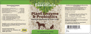 Digestive Supplement - Plant Enzyme + Probiotics
