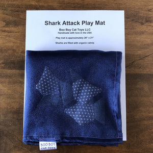 """Shark Attack"" - Catnip Play Mat"