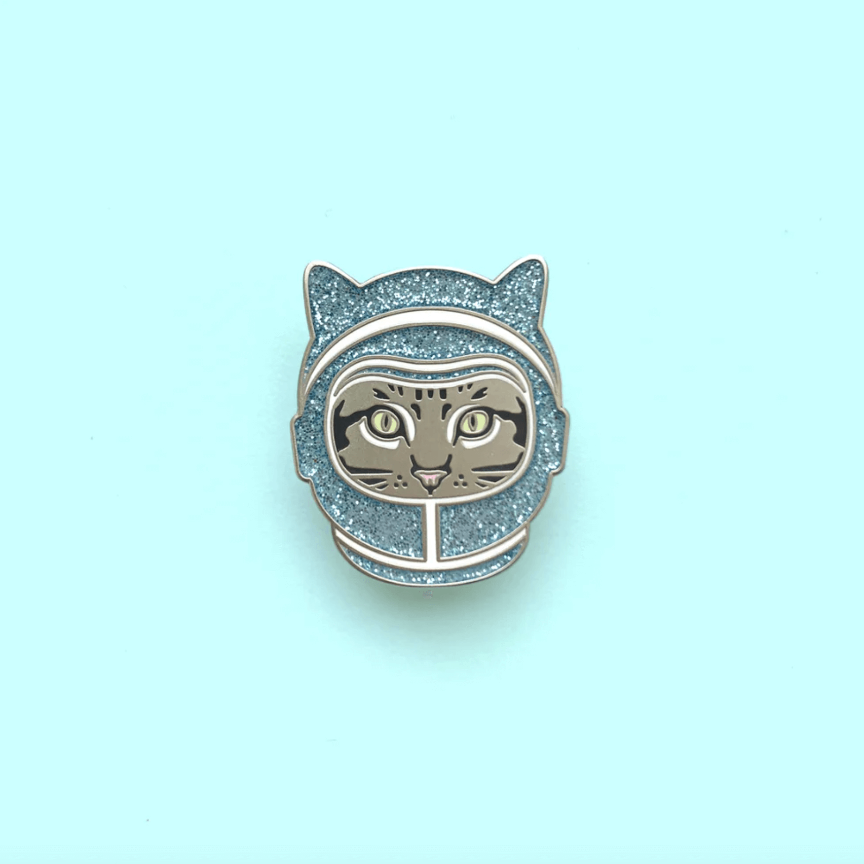 """Space Cat"" - Enamel Pin"