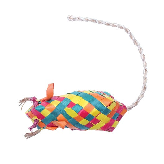 Woven Mouse - Eco Catnip Toy