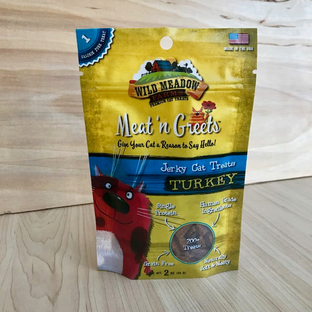 Soft Jerky Cat Treats - Turkey