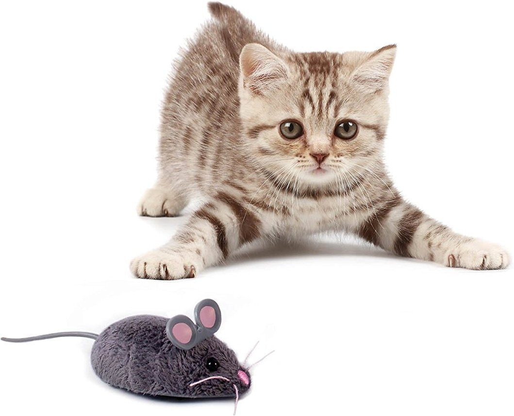 Robotic Mouse Cat Toy