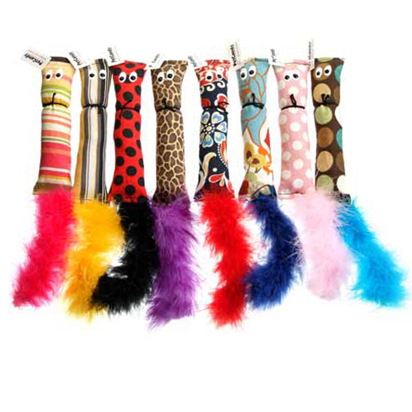 Catnip & Feather Squirrel Cat Toy