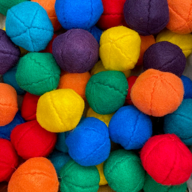 Felt Crinkle Ball - Cat Toy