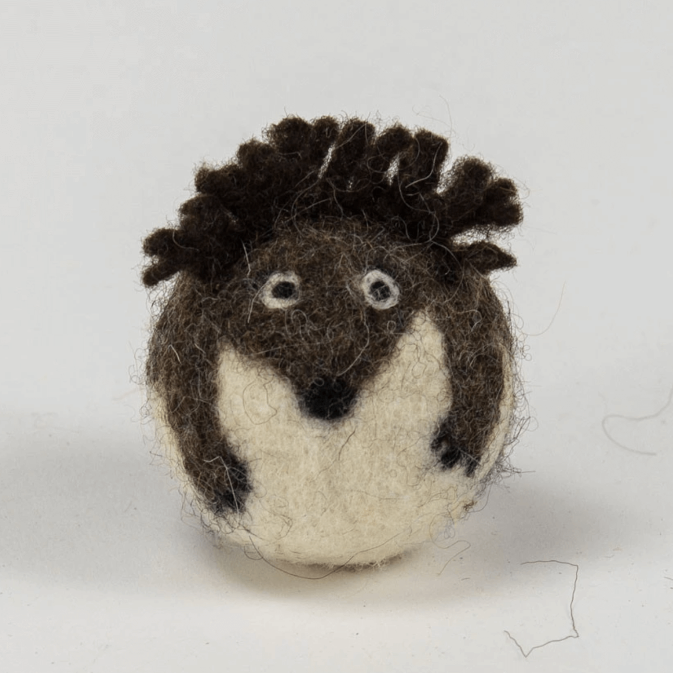 """Lil Wool Hedghog"" - Cat Toy"