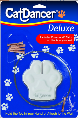 """Cat Dancer"" - Deluxe Cat Toy (w/Wall Attachment)"