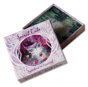 Spirit Cats Oracle Card Deck
