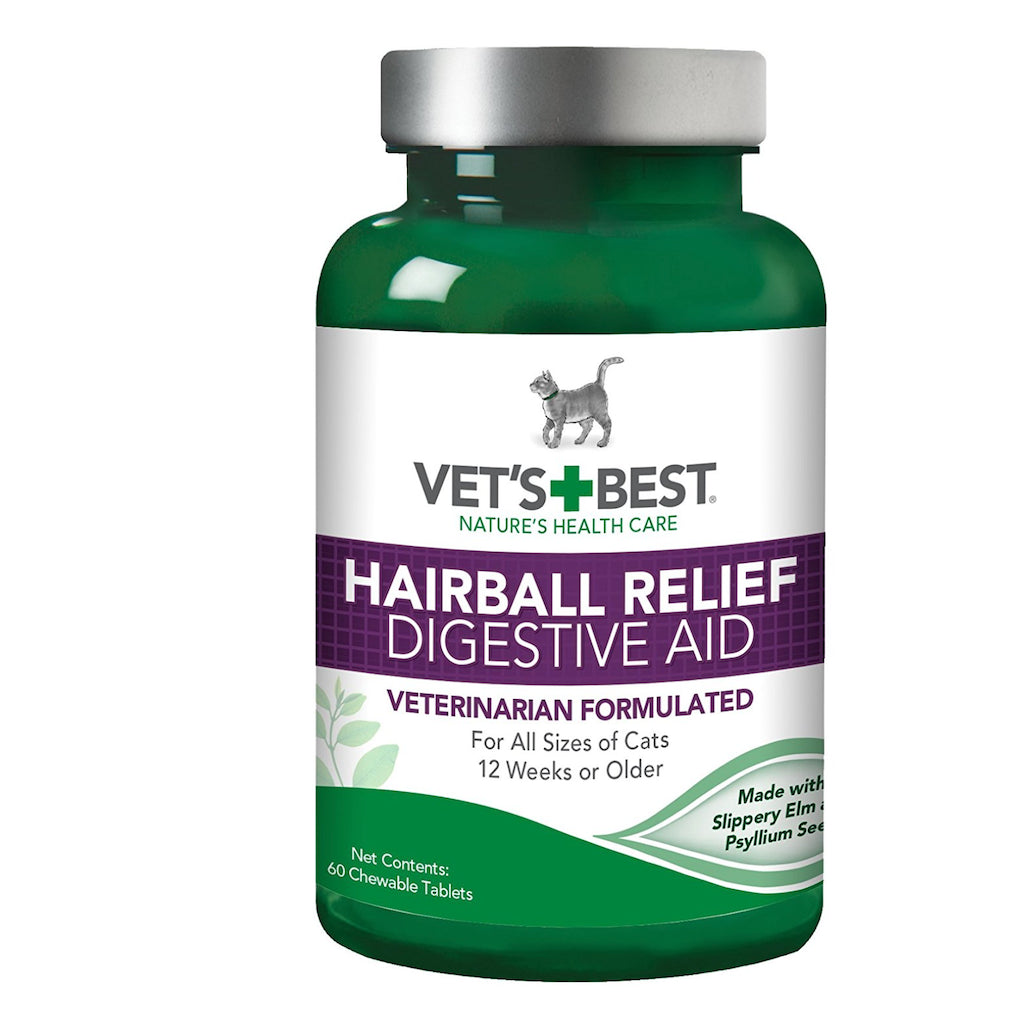 Cat Hairball Relief - Chewable Tabs