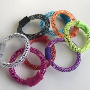 """Mesh Ring"" Cat Toy"