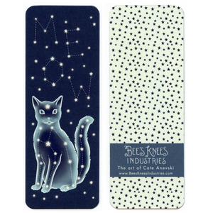 """Celestial Cat"" Bookmark"