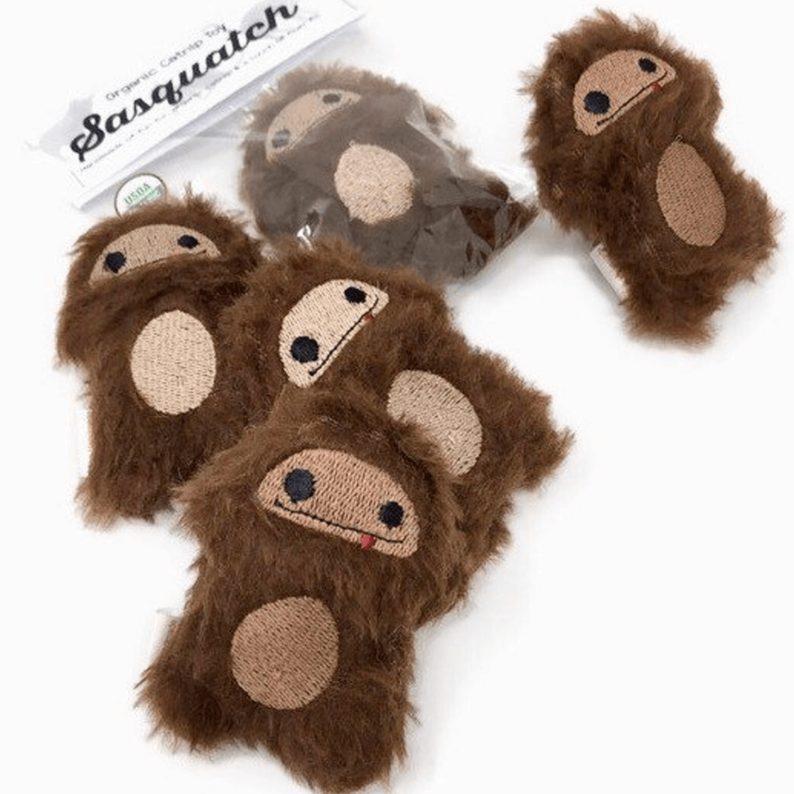 """Baby Bigfoot"" - Catnip Cat Toy"