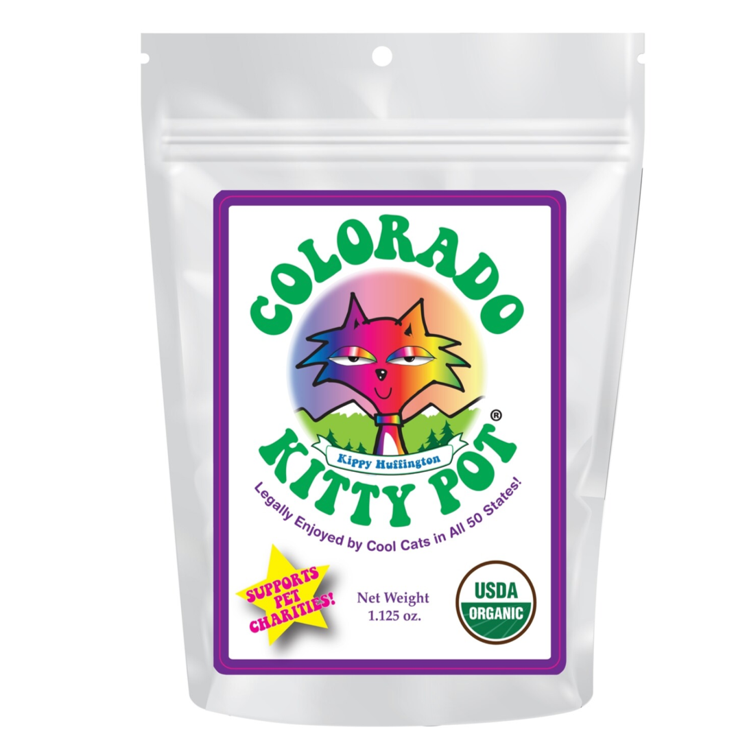 """Colorado Kitty Pot"" - Bag of Catnip"