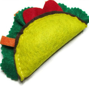 Eco-Felt Catnip Taco - Cat Toy