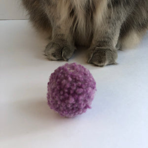 Wooly Dust Bunnies - Cat Toy