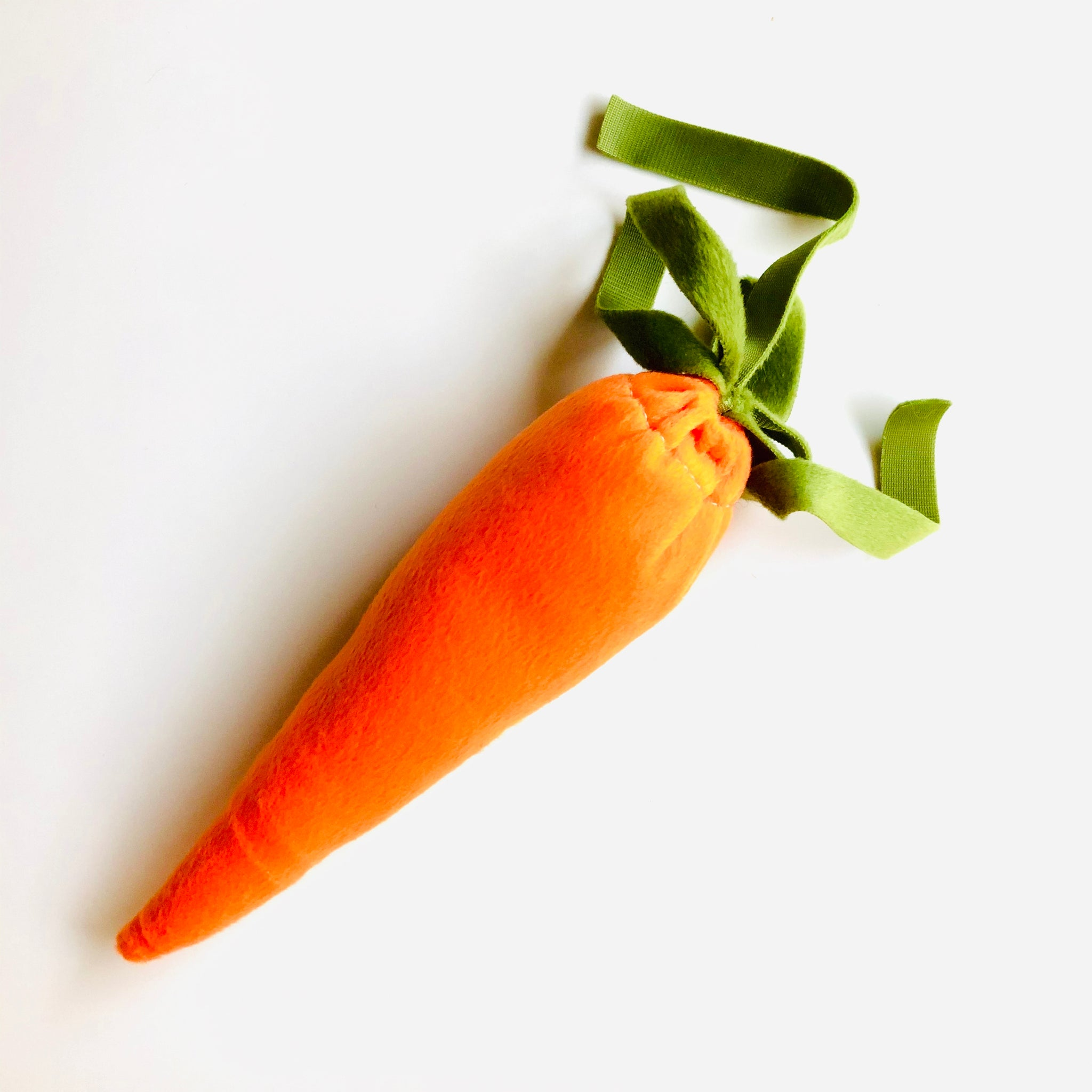 """Carrot of Joy and Happiness"" - Refillable Catnip Toy"