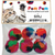 Rainbow Pom Poms - Cat Toy
