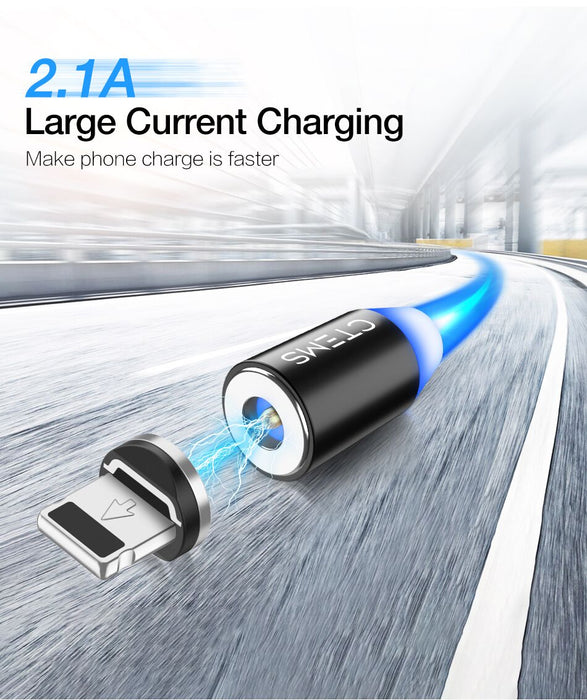 CTEMS 3-in-1 Magnetic Fast Charging Cable